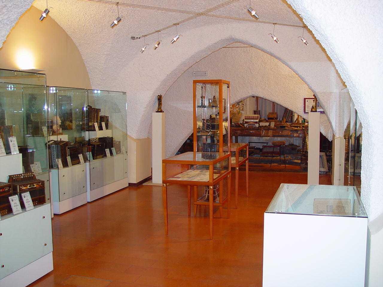 Museo della fisarmonica, boom di presenze