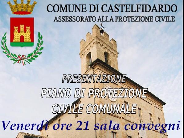 Presentazione del nuovo piano di protezione civile