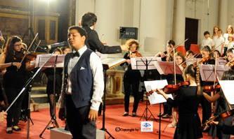 Saggio di musica, orchestre e solisti in Auditorium