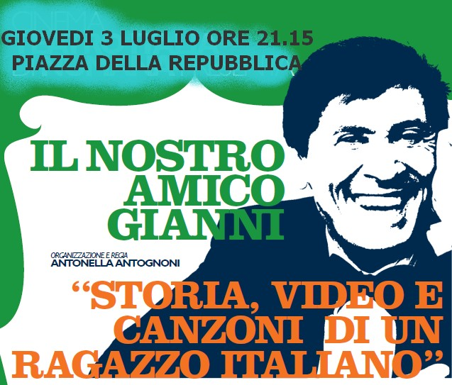 Il tributo all`amico Gianni Morandi apre l`estate