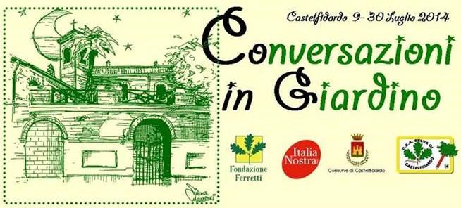 """""""Conversazioni in giardino"""" tra ambiente e storia"""