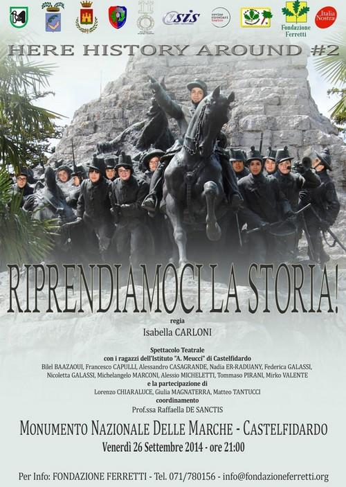 Riprendiamoci la storia al Parco del Monumento