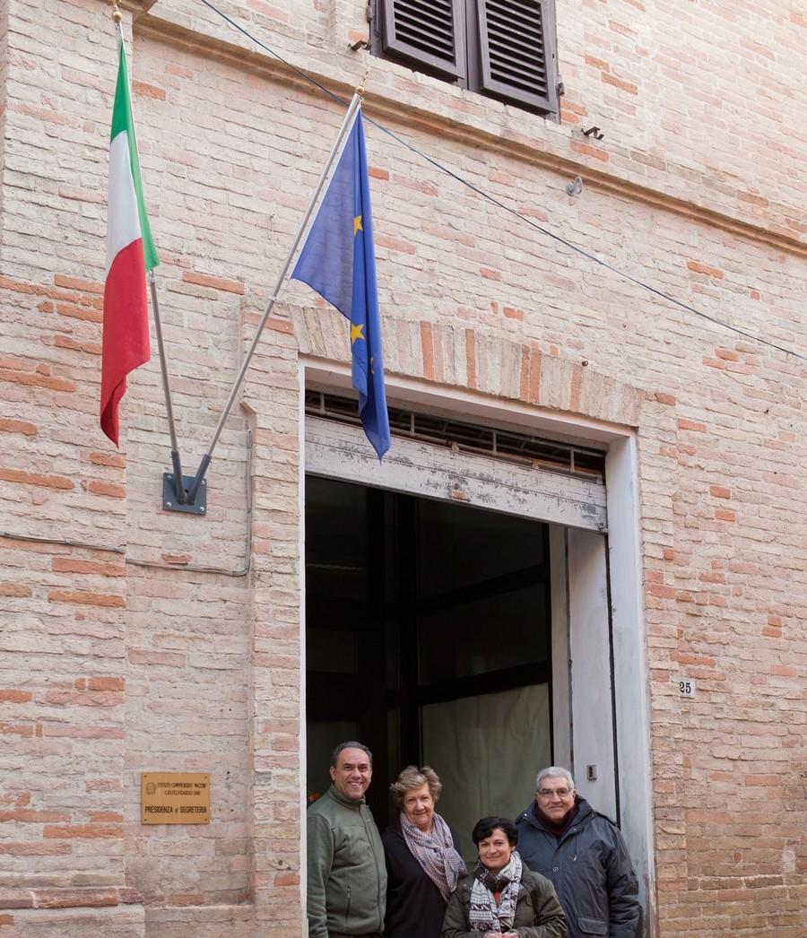 Festa del tricolore all`I.C. Mazzini con l`Anc