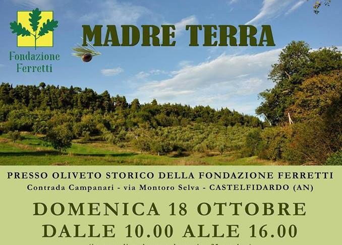 Madre Terra domenica 18 ottobre alla Selva