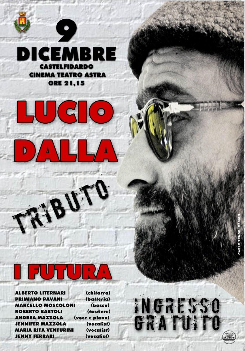 Tributo a Lucio Dalla al teatro Astra.