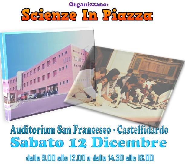 Scienze in piazza sabato in Auditorium