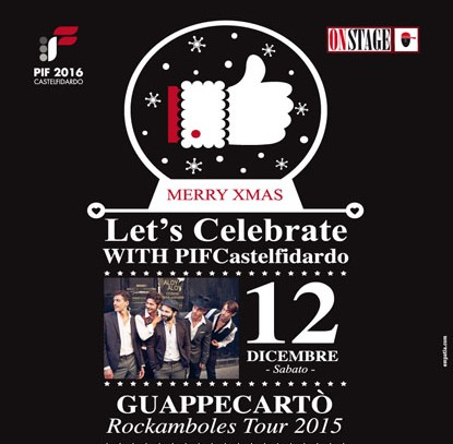 Guappecartò sabato all`On Stage
