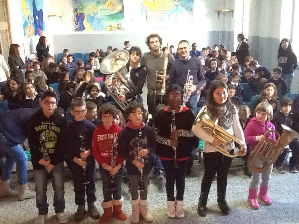 La musica della didattica, la Filarmonica al Sant`Anna