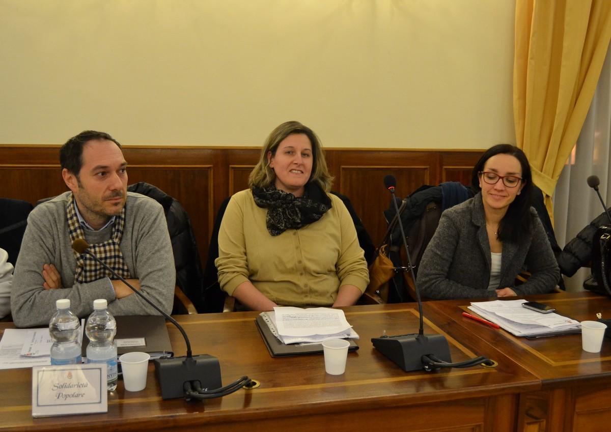Il debutto di Romina Fiordoliva in Consiglio Comunale