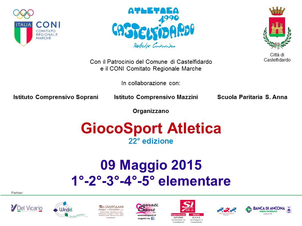 Giocosport Atletica per 966 bimbi