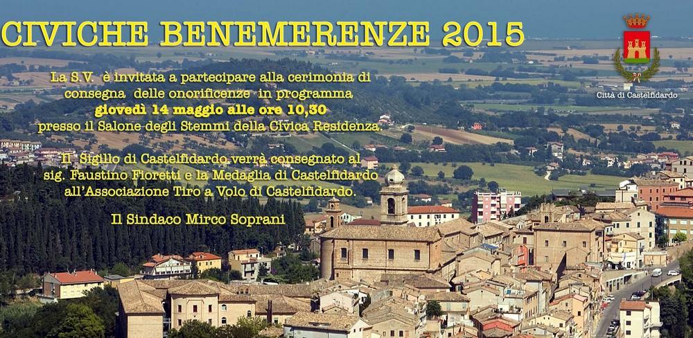 Festa Patronale,  benemerenze a Fioretti e Tav
