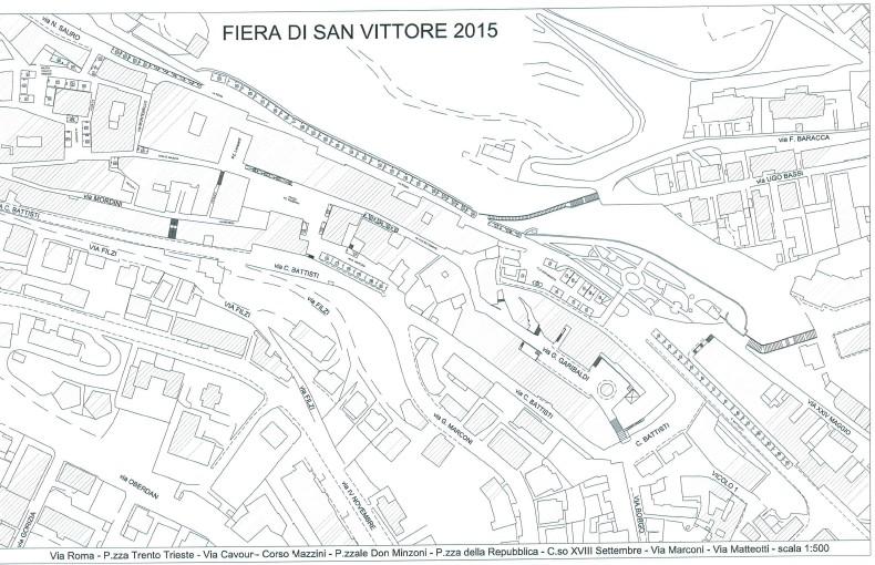Festa di San Vittore e Corona, provvedimenti viabilità