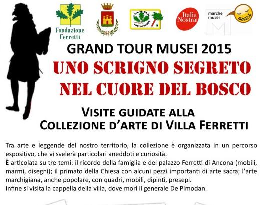 Grand tour dei Musei, le proposte della F.Ferretti
