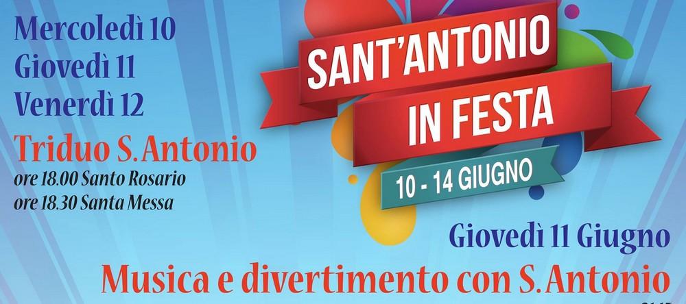 Parrocchia Sant`Antonio in festa da giovedì a domenica