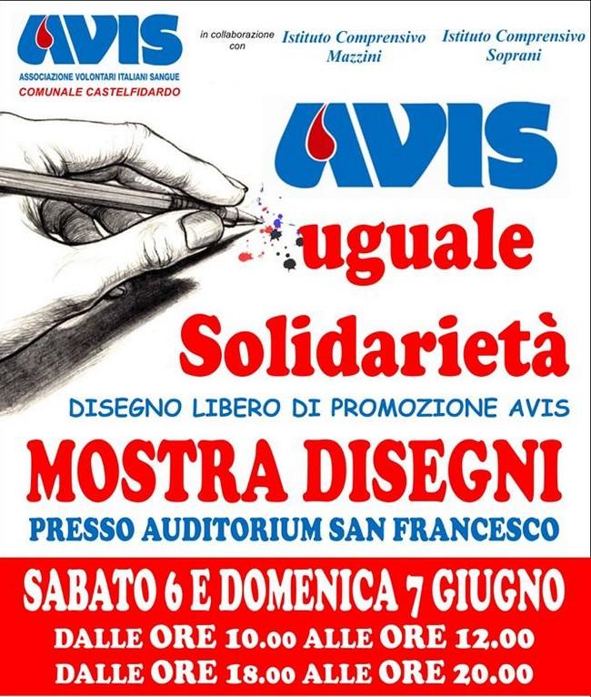 Avis uguale solidarietà, mostra in Auditorium