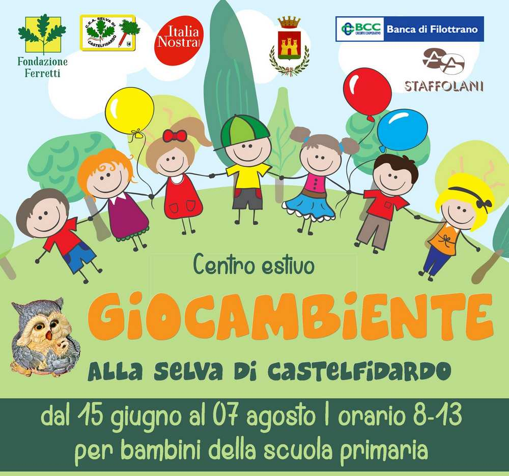 Giocambiente, posti gratuiti per bambini disabili