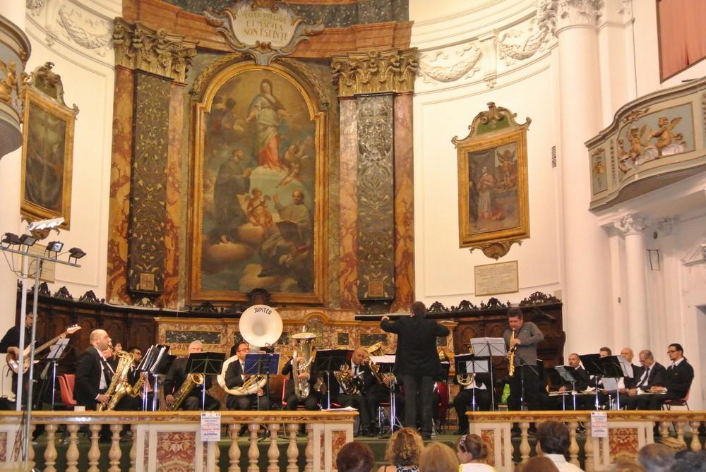 Emozionante concerto dell`orchestra Filarmonica