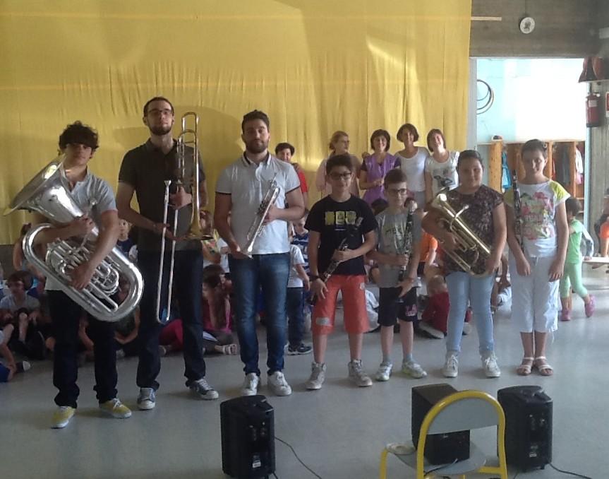 Concerto di fine anno scolastico alle Rodari