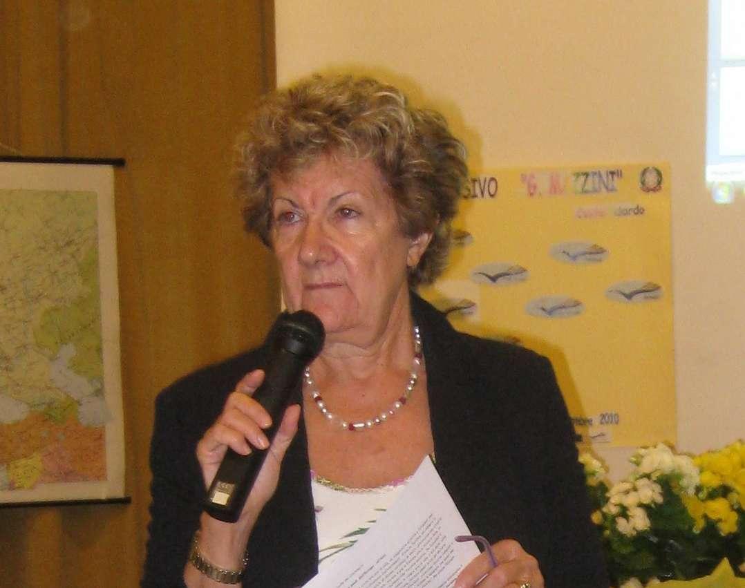 L`I.C. Mazzini saluta Maria Eugenia Tiseni