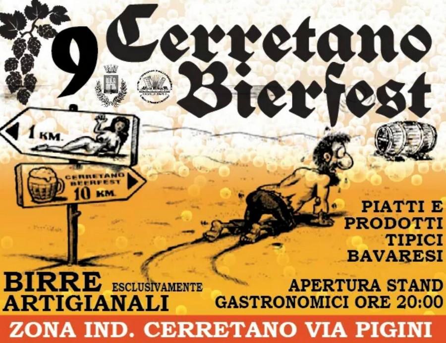 Quattro giorni di Bierfest al quartiere Cerretano