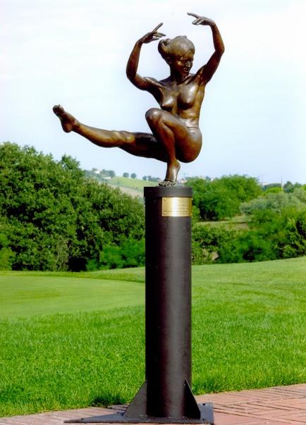 Angelica, gioia della vita, al Parco del Monumento