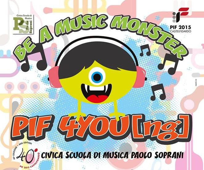 Scuola civica di musica lezioni gratuite durante il PIF