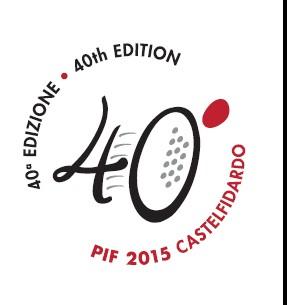 40° Pif, un`esplosione di musica, numeri ed eventi