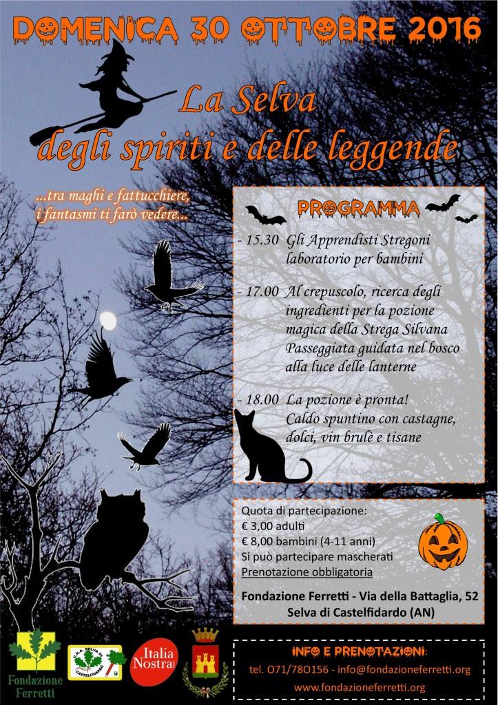 Halloween alla Selva di Castelfidardo