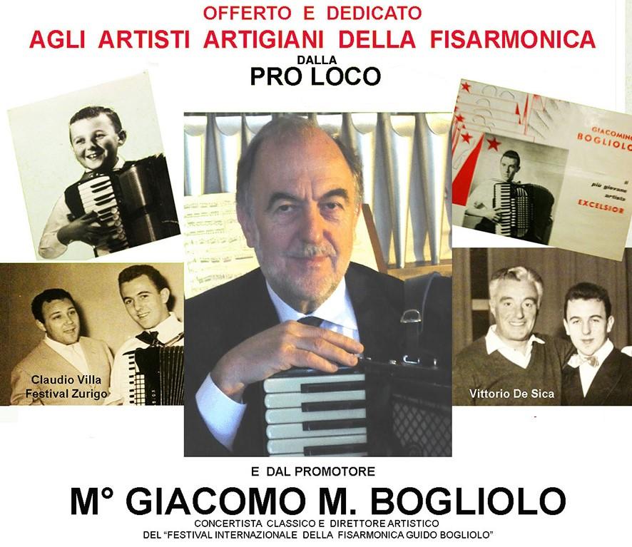 Incontro-concerto omaggio artisti-artigiani fisarmonica