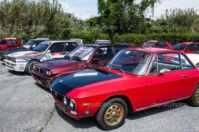 Domenica raduno auto d`epoca Lancia Delta