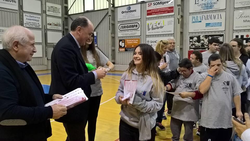 Special Olympics, basket unificato al Pala Olimpia