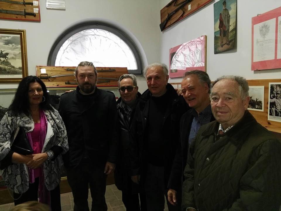 Lorenzo Del Boca in visita al Museo del Risorgimento