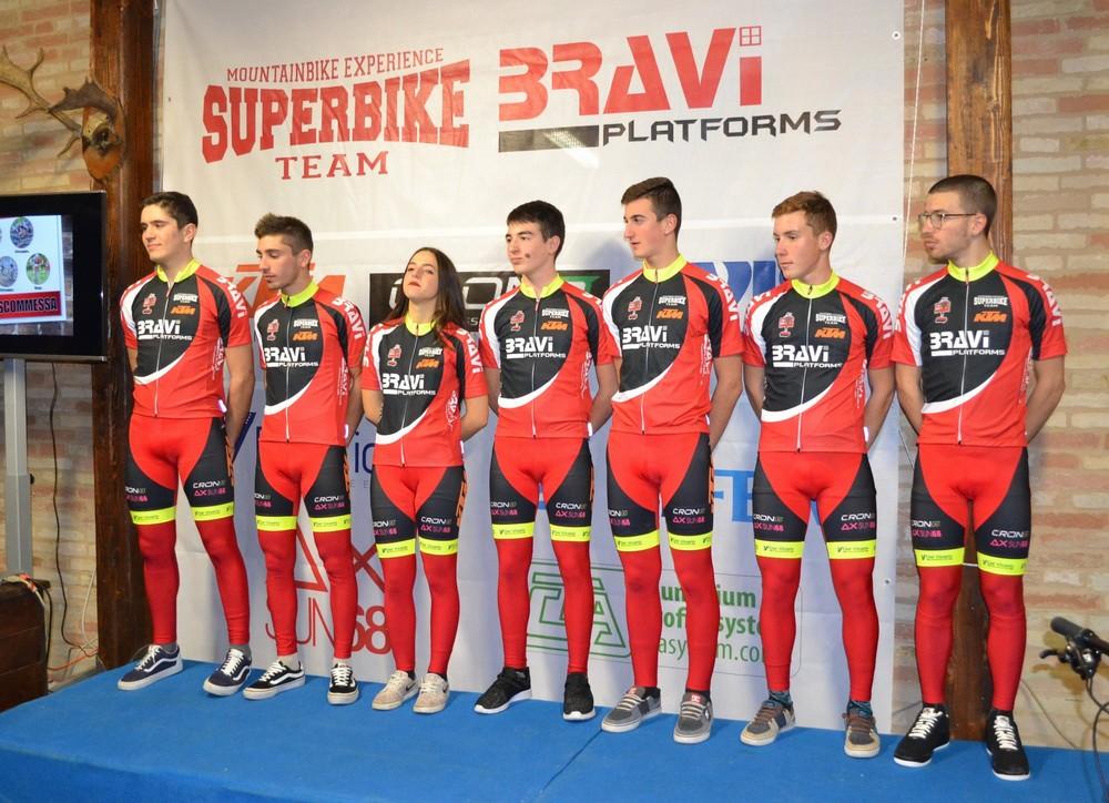 Superbike Bravi platform team pronto per il nuovo anno