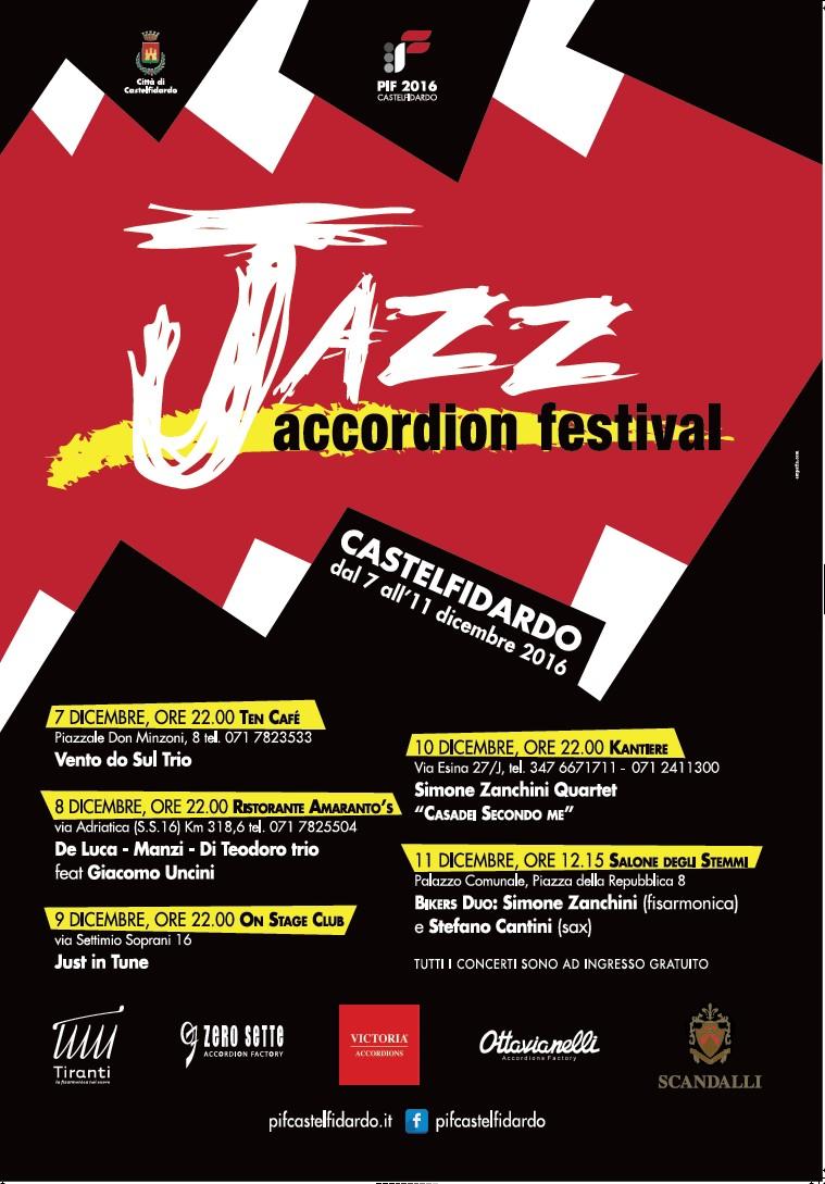 Jazz Accordion Festival cinque appuntamenti di qualità