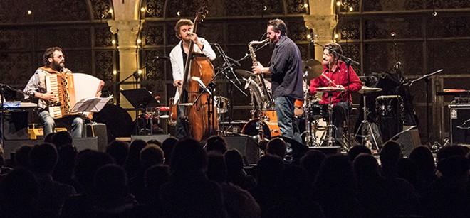 JAF: Casadei Secondo me: Zanchini quartet al Kantiere