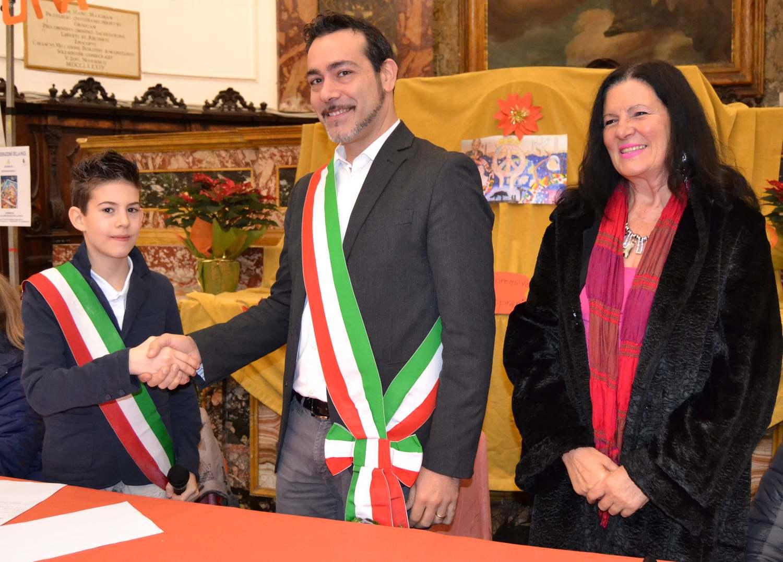 Alessio Burini è il nuovo mini-sindaco