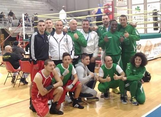 Boxing club al top regionale, 10° a livello italiano