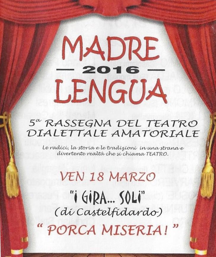 Madre Lengua, venerdì il gran finale