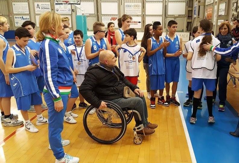 Special Olimpics, amichevole I.C. Soprani-Einstein