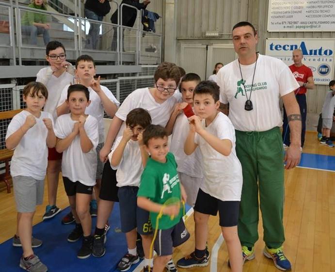 Boxing club, piccoli campioni crescono