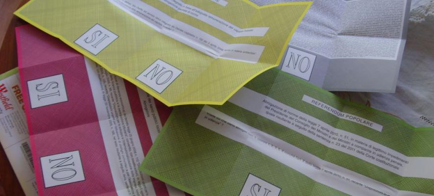 Referendum, orari di apertura dell`ufficio elettorale