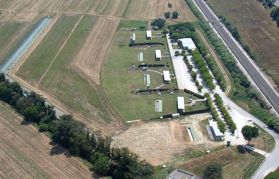 La nazionale B di Tiro a volo  a Castelfidardo
