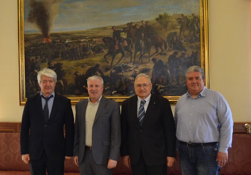 La visita del direttore generale Filisetti