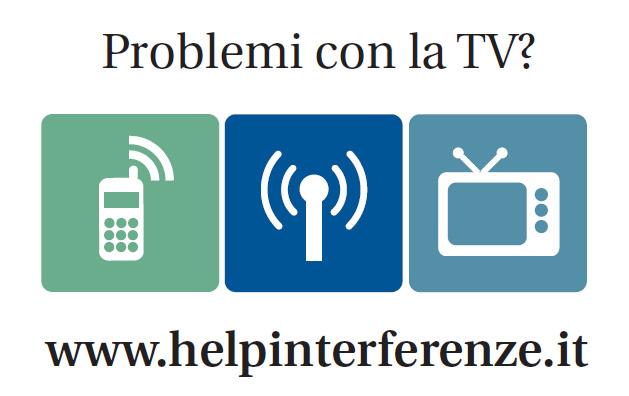 Segnalazioni di interferenze tra segnale TV e reti 4G
