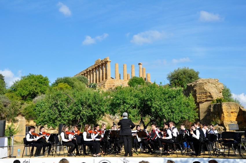 La IIID ad indirizzo musicale conquista Agrigento