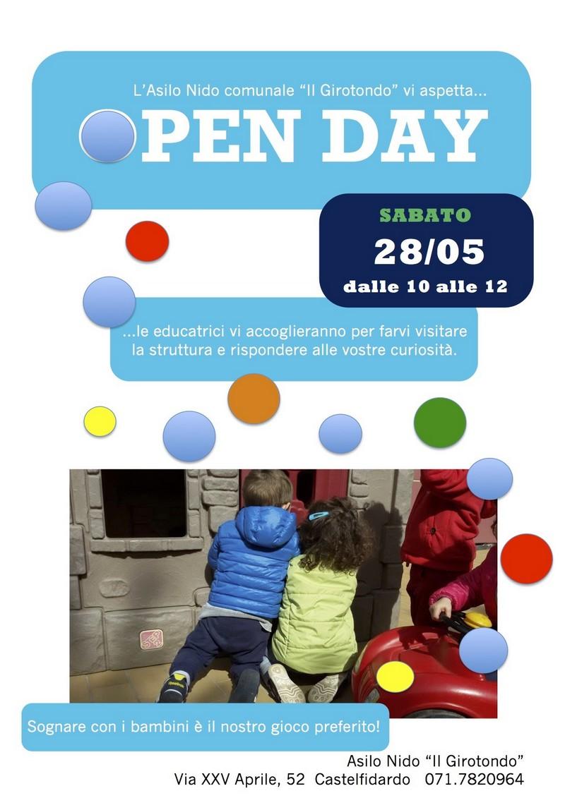 Open day all`asilo nido Girotondo