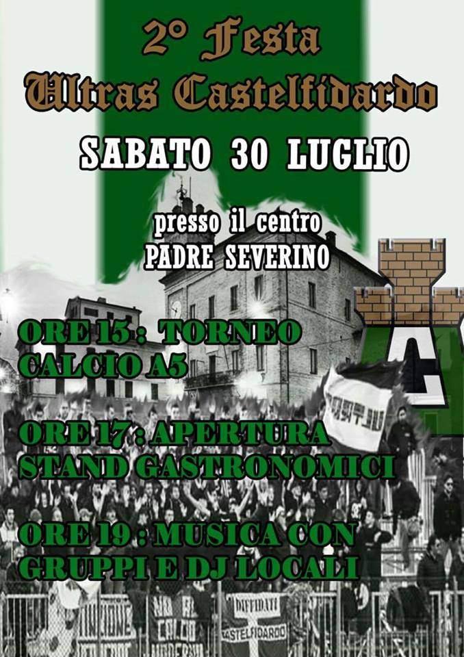 Festa Ultras Castelfidardo pro Centro-Arcobaleno