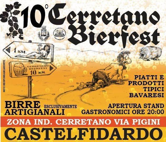 Si apre in via Pigini il Cerretano Bierfest