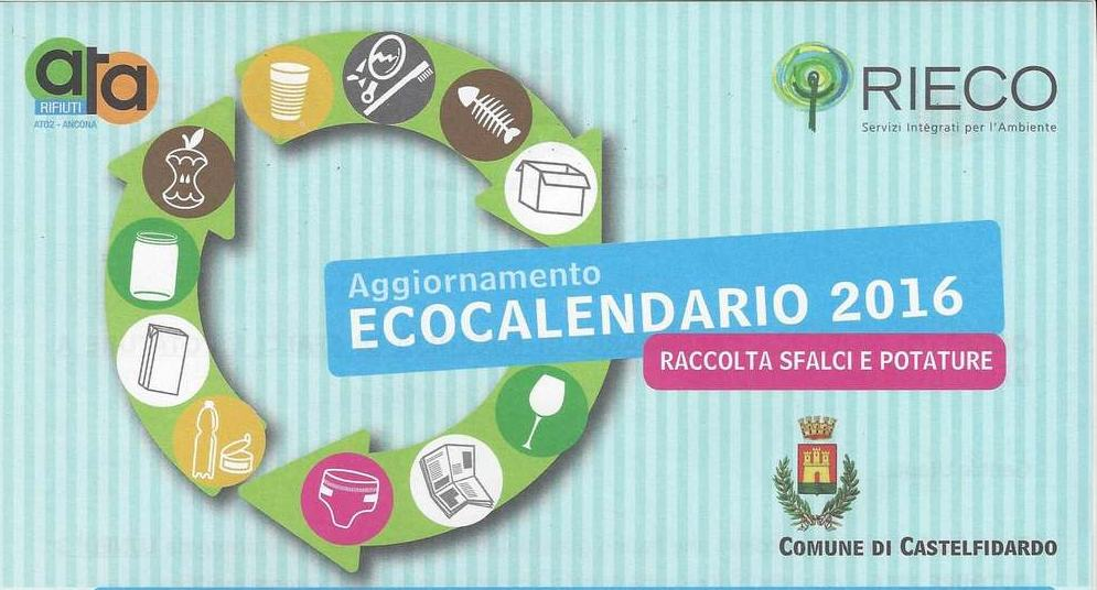 Modifica al calendario di raccolta di sfalci e potature