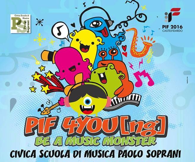 Un Pif sempre giovane con la scuola di musica